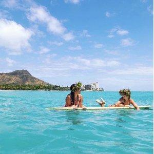 直飞往返$297加州圣何塞--夏威夷茂宜岛 往返机票好价