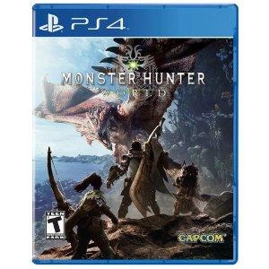 Sony怪物猎人 世界 PS4 实体版