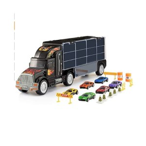 $18.48(原价$39.99)Play22 汽车运载卡车+6辆小汽车,车长50厘米