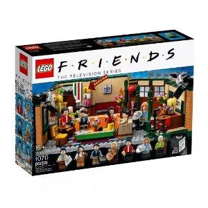 $59.99包邮送驯鹿  延期交货仍可下单折扣升级:LEGO®官网 老友记中央公园21319