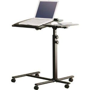 Walmart Mainstays Deluxe Laptop Cart, Black