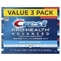 Crest 高级牙龈护理牙膏 3支装