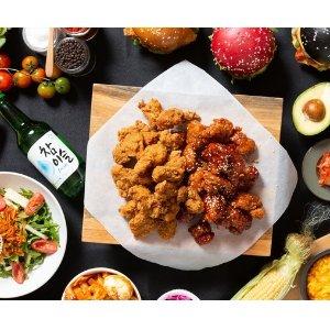 $33(原价$51)墨尔本Burground 韩式炸鸡、啤酒套餐