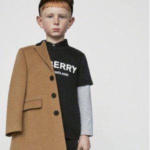 低至3折 Fendi上衣 $139Flannels 大牌童装热卖,时髦要从娃娃抓起