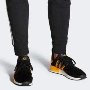 $170包邮上新:adidas NMD R1 大黄蜂配色男鞋 舒服爆米花底 买它