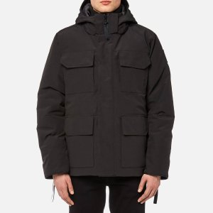 Canada Goose黑标羽绒服