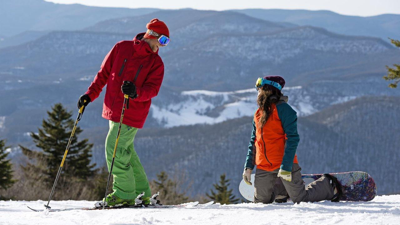 周末说走就走的滑雪体验,美东南最大的滑雪场Snowshoe Mountain