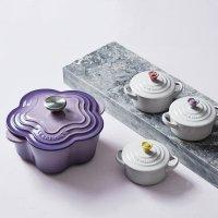 Le Creuset 花型铸铁锅