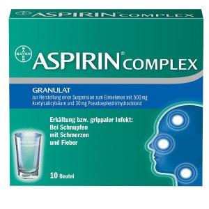 阿司匹林冲剂10包