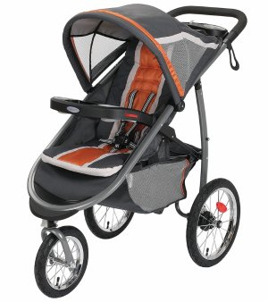 Graco FastAction Fold Click Connect Jogging Stroller