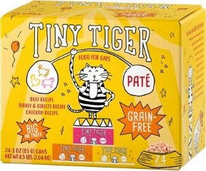 Extra 50% OffTiny Tiger Wet Cat Food on Sale @ Chewy