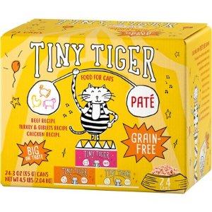 全场5折 + 9.5折订阅优惠Tiny Tiger 猫湿粮罐头大促销