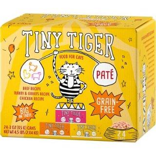 买一箱送40磅Frisco猫砂Tiny Tiger 猫湿粮罐头热卖