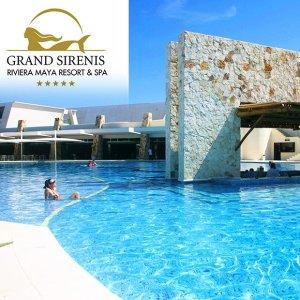 $115起墨西哥坎昆 Grand Sirenis 5星级全包式度假酒店