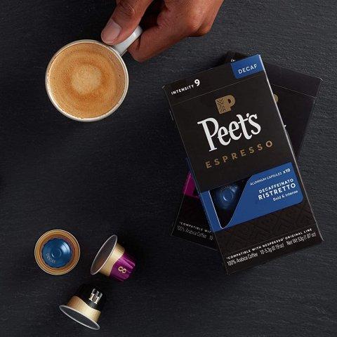 $18.80Peet's Coffee Espresso Capsules 50 Count