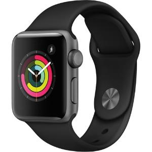 $199.99 (原价$279.99)Apple Watch Series 3 GPS 38mm 智能手表