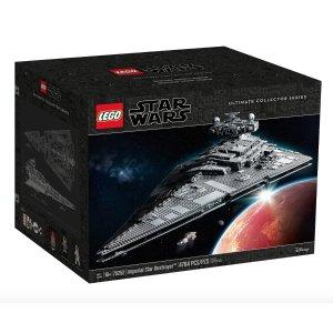$879 (官网$1099.99)LEGO乐高 星战系列 UCS级 帝国歼星舰75252 全网最低
