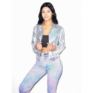 American ApparelFly Cropped Coach Jacket | American Apparel