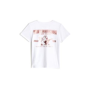 True ReligionGIRLS BREAST CANCER AWARENESS BUDDHA TEE