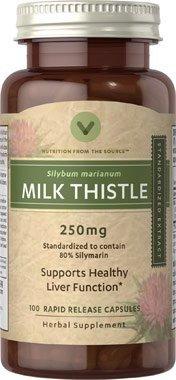 牛奶蓟(水飞蓟素)250mg 护肝
