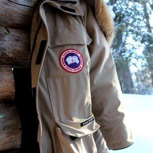 全场8折+包邮 $636收羽绒服Canada Goose 代替拥抱温暖你 $360收童装羽绒服 随时结束