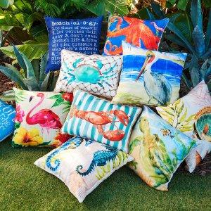 Indoor Outdoor Pillow Sale Pier 1 Imports 2 98 Dealmoon