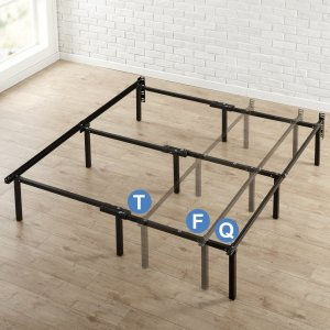 $44Zinus 12 Inch Compack Bed Frame, for Box Spring & Mattress Sets