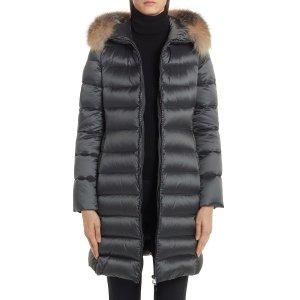 Moncler长款羽绒服外套