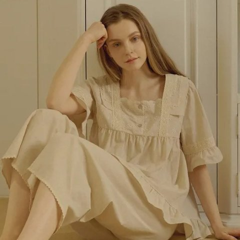 低至5折+额外9折W.Concept 仙女睡衣家居服专场 韩风森系睡衣参与