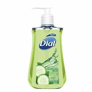 $1.09 Dial Liquid Hand Soap, Cucumber & Mint, 7.5 Fluid Ounces