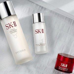 相当于变相7.8折Bergdorf Goodman SK-II 护肤品促销 收神仙水超值套装
