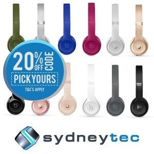 $306(原价$399) 限时特惠Beats Solo3 Wireless 无线头戴式耳机 多色可选