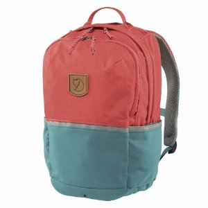 FjallravenHigh Coast Kids Backpack - Peach Pink / Lagoon