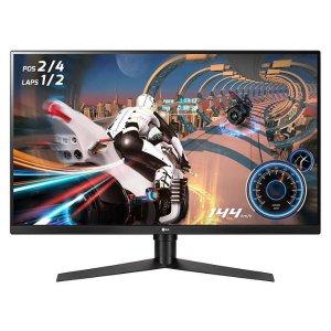 $299.99LG 32GK850F-B 32吋 Class QHD HDR FreeSync 显示器