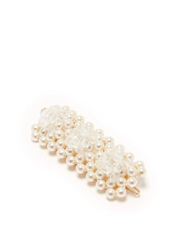 Antonia珍珠发夹