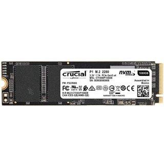 $79.99 (原价$169.99)闪购:Crucial P1 1TB 3D NAND NVMe PCIe M.2 固态硬盘