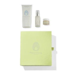薄荷洁面+平衡乳液+清洁面膜套装