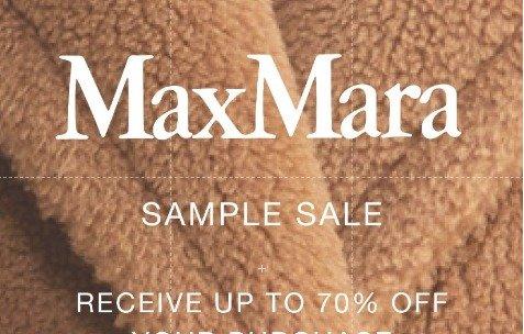 2021年 Max Mara开仓回顾 3折起+额外折扣2021年 Max Mara开仓回顾 3折起+额外折扣