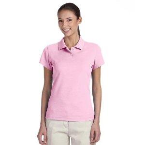 2 For $14adidas Women's Climalite Tour Pique S/S Polo