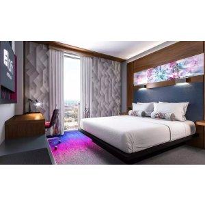 GrouponAloft 双人大床房