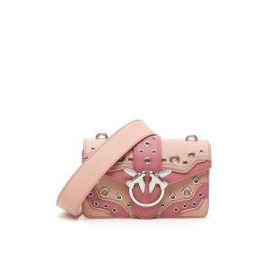 Pinko镂空拼色燕子包