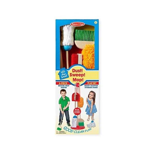 木质家庭打扫玩具组