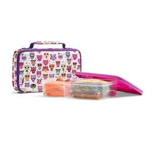 As low as $6.45Fit & Fresh Insulated Bento Box Lunch Kit, Woodstock