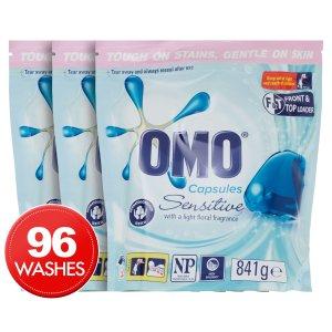 OMO3 x OMO 洗衣粉液体胶囊 32pk
