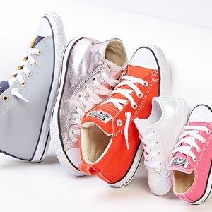 $20起Converse 儿童运动休闲服饰鞋履促销