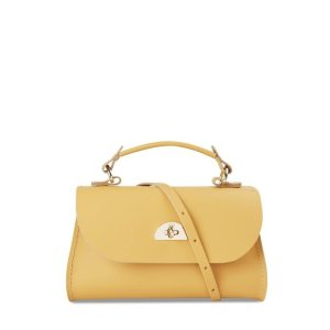 The Cambridge Satchel CompanyMini Daisy Bag in Leather - Indian Yellow
