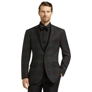 Jos. A. Bank Tailored Fit Plaid Jacket CLEARANCE