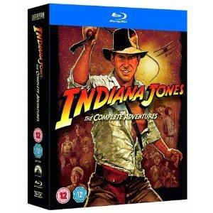 $16.70(含邮费)经典电影作品《夺宝奇兵 Indiana Jones》四部曲 全集蓝光光盘