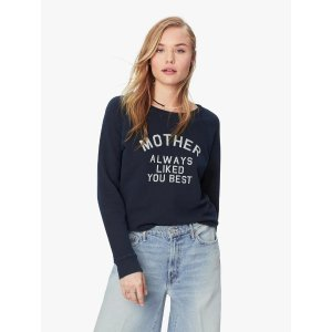 Mother DenimThe Square - Mother Always Liked You Best/Navy