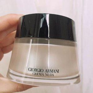 GIORGIO ARMANI beauty皮肤又白又好,上脸服帖清透黑曜石素颜霜SPF20 00号色